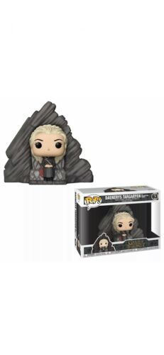 Daenerys Targaryen On Dragonstone Throne Funko Pop Game Of Thrones