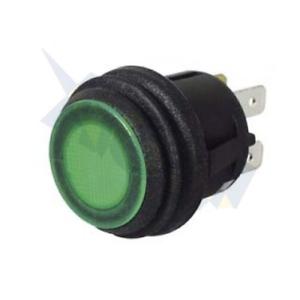 Durite 0-531-74 Green LED On//Off Beacon Rocker Switch 24v