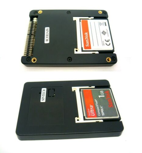 Sintech Dual CF UDMA card TO 2.5 44pin IDE adapter with case as SSD HDD ST4410