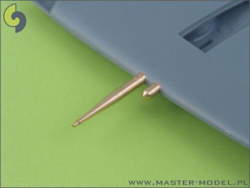1//48 MASTER MODEL AM48004 BARRELS HISPANO 20mm for Supermarine Spitfire