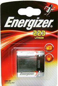 BATTERIA-PILA-ENERGIZER-223-LITHIUM-6-V-NUOVA