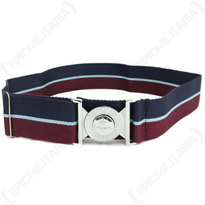 British-Royal-Air-Force-STABLE-BELT-with-Buckle-All-Sizes-Modern-RAF-Uniform