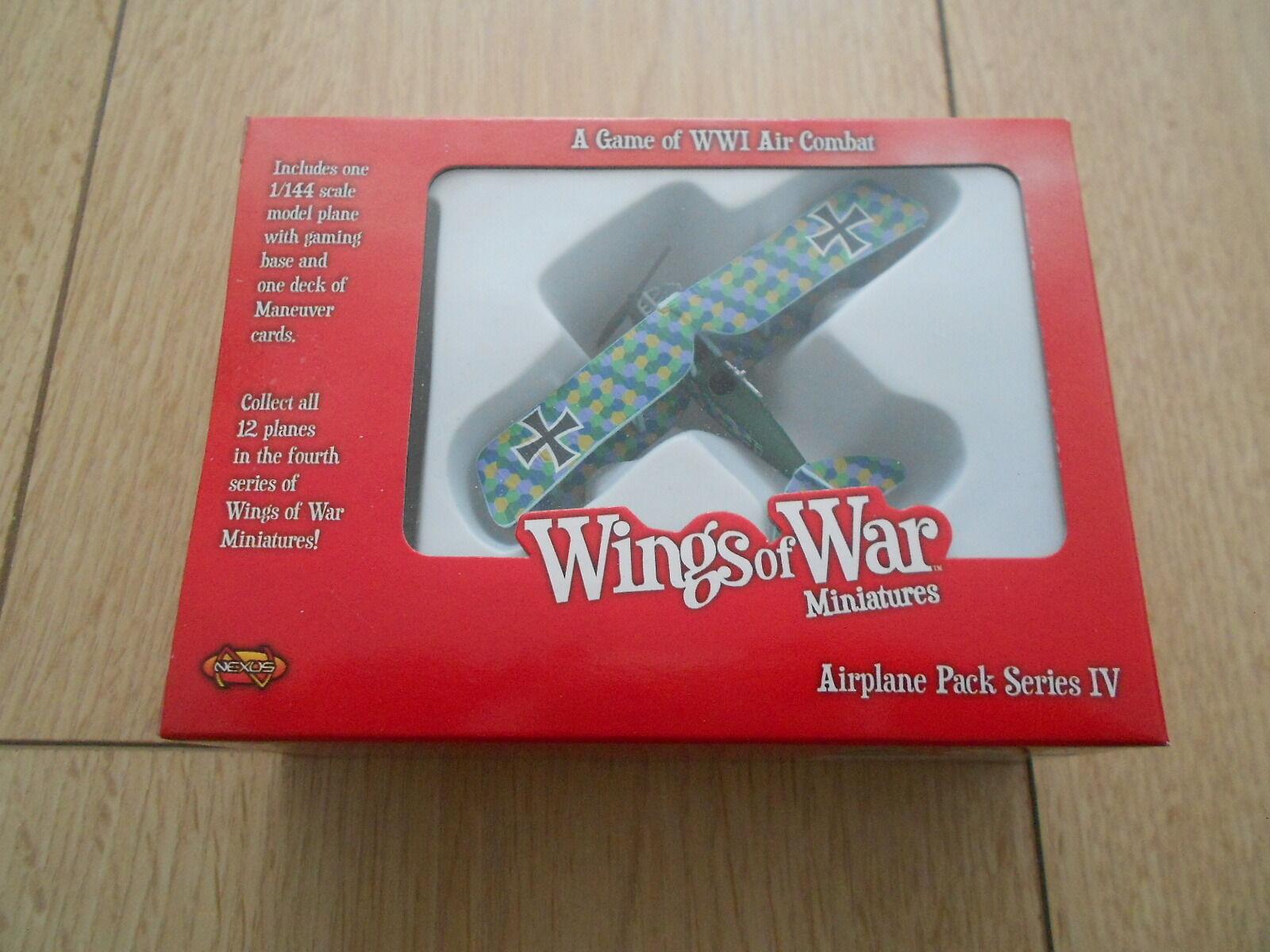 Die flügel des krieges - der erste weltkrieg - rumpler civ - c - 8267   17 - serie iv - miniaturen - wow149-b