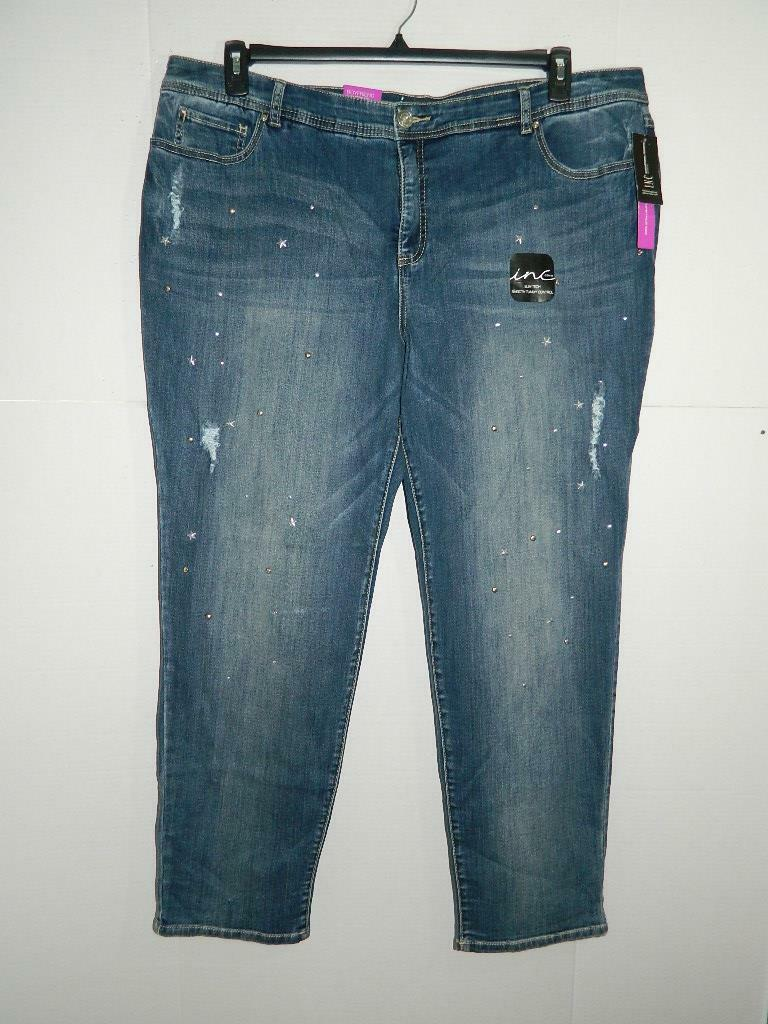 9f8f2492fe0 City Chic Women s Plus Denim Bootleg Jeans Size 14 X 32 Wp1663 for sale  online