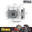 thumbnail 3 - Derale Atomic-Cool Remote Mount Engine Oil Cooler Kit w/ Fan - DP15450