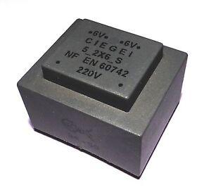 Transformateur Moule 5va 2x6v Ciegei Tfm5va6d Ktbrvwum-07225201-152362627