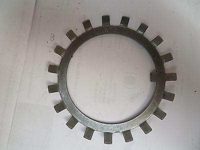 "Lot of 9 Whittet Higgins W-13 Bearing retaining nut lock washer 2.590/"" I.D"
