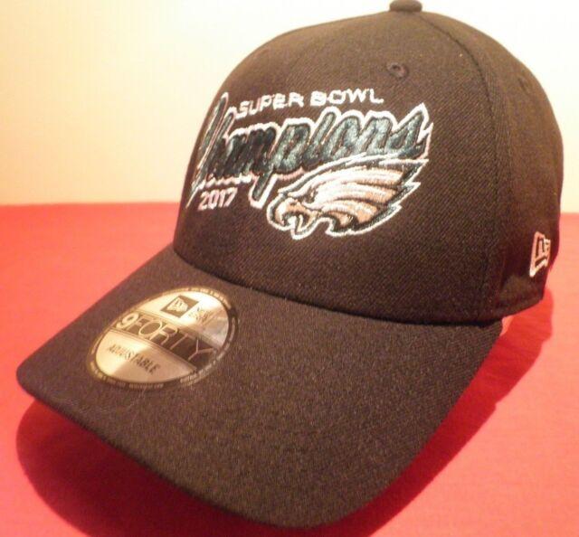 51f4d0d1b6d99 New Era 9FORTY Philadelphia Eagles 2017 SUPER BOWL CHAMPIONS Adjustable Hat  NWT