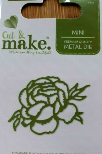 Cut and Make Botanical Mini Rose Flower  Die cutting dies cutter cards Dies