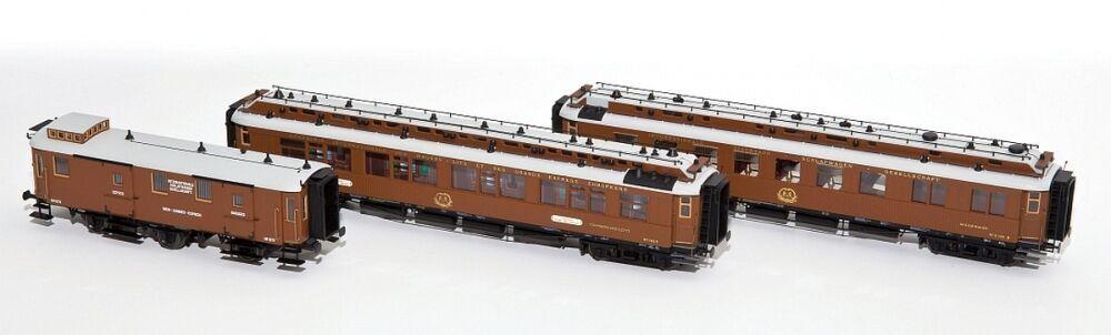 Hobbytrain H44015 Ciwl Set de Vagones Wien-Nizza-Cannes 3 Piezas Nuevo