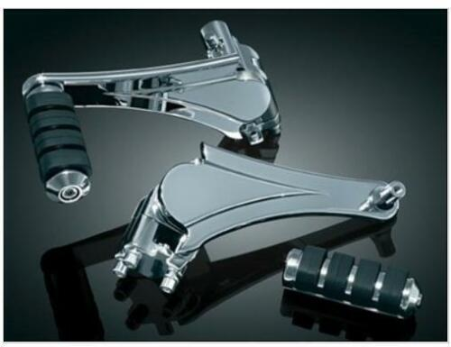 Kuryakyn 4353 Adjustable Passenger Pegs for Harley 10-17 Touring FLHX FLHTCU