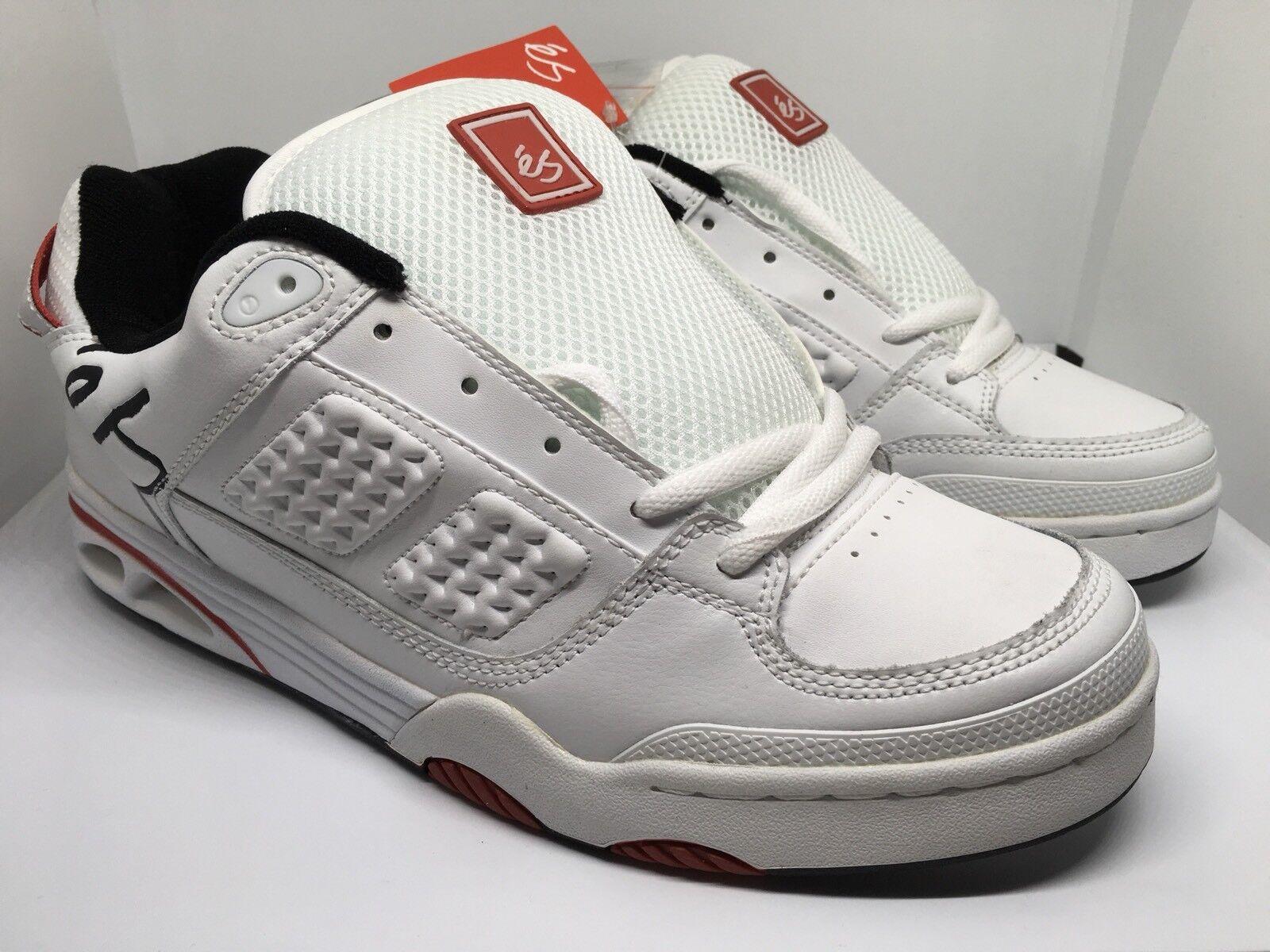 ES Footwear Saga RARE UK9 US10 White BNIB
