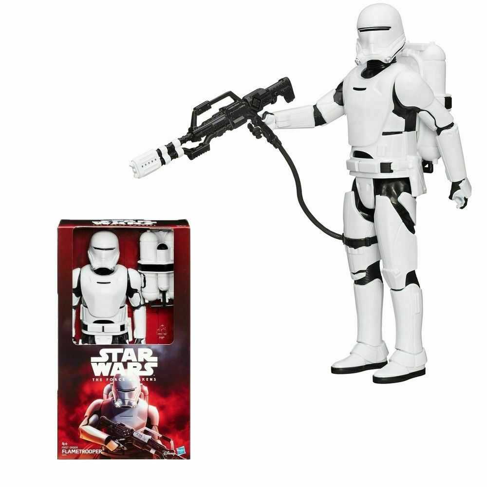 StarWars figurine : Disney Hasbro Star Wars The Force Awakens 30.5cm Premier Ordre Flametrooper