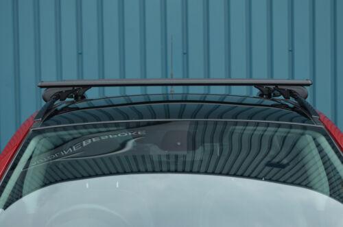 Black Cross Bars For Roof Rails To Fit Toyota Rav4 100KG Lockable 2013+