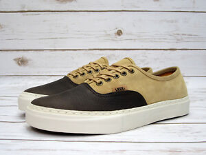 56b9273ccd Image is loading Vans-Vault-Authentic-Lx-Leather-Suede-Chocolate-Brown-