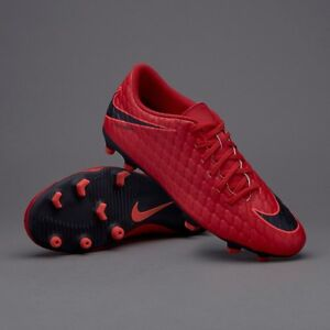save off 8aee2 f1260 Details about Nike Hypervenom Phade III FG US Sz 9 852547 616 RED