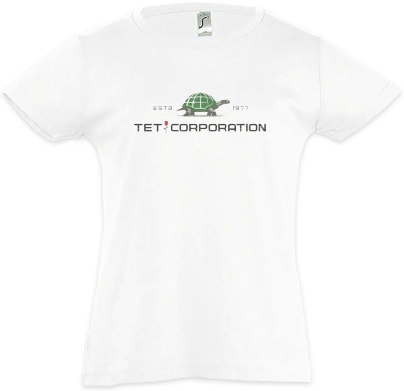 Tet Corporation Kids Girls T-shirt The Dark Symbol Sign Logo Tower Company Book