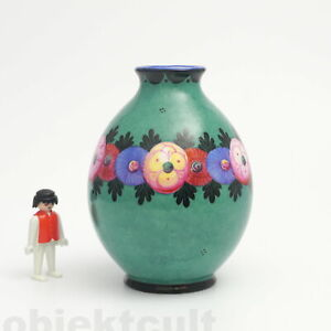 Wilhelm-Kagel-Keramik-Vase-Jugendstil-um-1915-Garmisch-Partenkirchen-Art-Nouveau