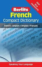 Berlitz French Compact Dictionary: French-English/Anglais-FranCais Berlitz Comp