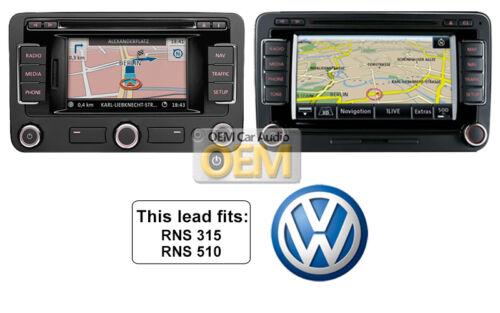 VW MDI iPod iPhone plomo adaptador de medios de comunicación en VW Passat conexión de cable lightning