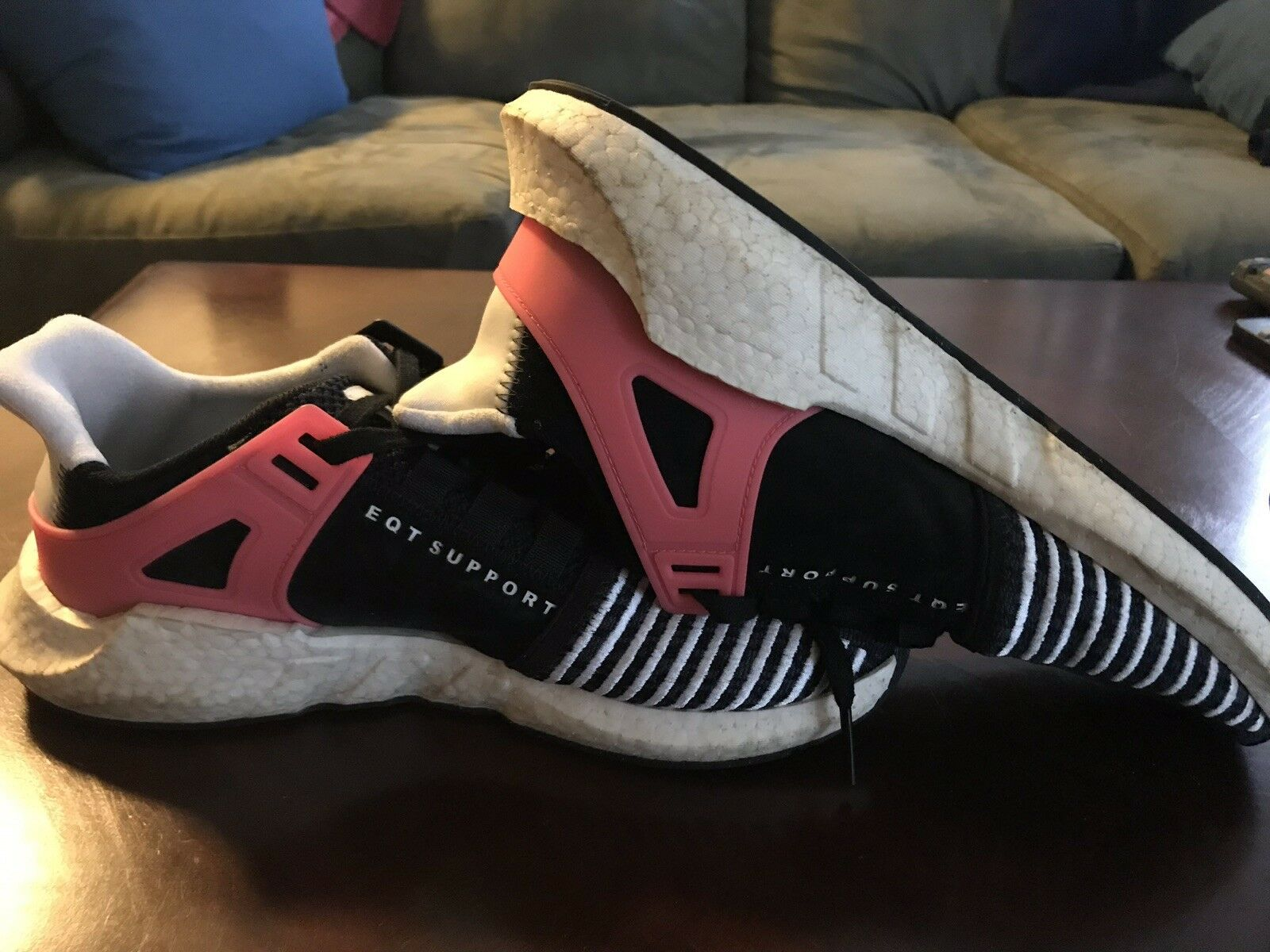 Adidas EQT Support 93 17 Turbo Red Size 11 - Used W  No Box