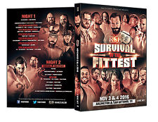 Official ROH Ring of Honor - Survival Of The Fittest 2016 Both Nights Event DVD