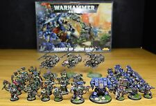 Warhammer 40k Assault On Black Reach NEW with well painted miniatures
