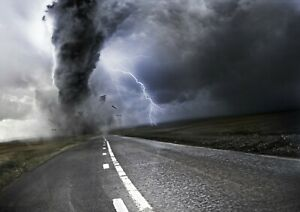Awesome-Extreme-Tornado-Poster-Print-Size-A4-A3-Weather-Art-Poster-Gift-8645