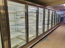10 Door Glass Merchandiser Cooler With Remote Refrigeration