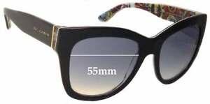 SFX Replacement Sunglass Lenses fits Dolce /& Gabbana DG6087 55mm Wide