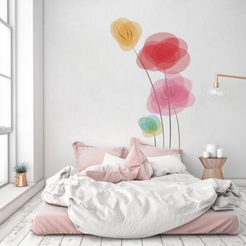 Details about  /3D Fingerprint Flower 72 Wallpaper Murals Floor Wall Print Decal Wall Sticker AU