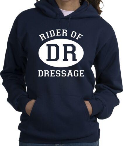 Dressage Sport Horse /& Rider Hooded Sweatshirt Multiple Colors /& Sizes