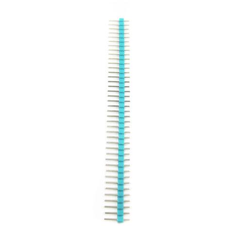 10pcs 2.54mm 40 Pin Male Single Row Pin Header Strip NEW