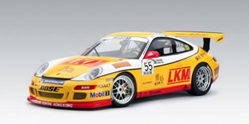 Porsche 997 GT3 Carrera Cup 2007 Team Jebsen  55 1 18 AUTOART 80785 NEW IN BOX