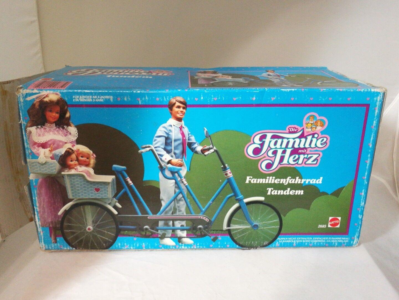 Barbie Doll La Famille Douceur Tandem  the heart family Vélo Double Neuf 2685