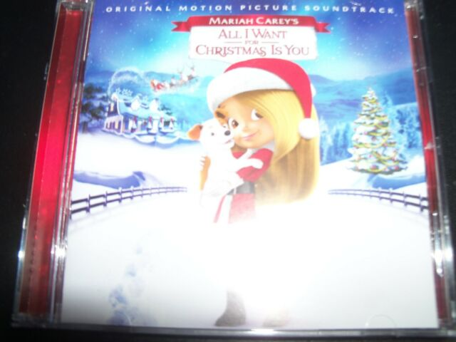 All I Want For Christmas Is You Original.Mariah Carey Mariah Carey S All I Want For Christmas Is You Soundtrack Cd New