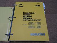 Komatsu Pc200,pc200lc,pc210lc,pc220lc,pc250lc-6 Excavator Service Shop Manual