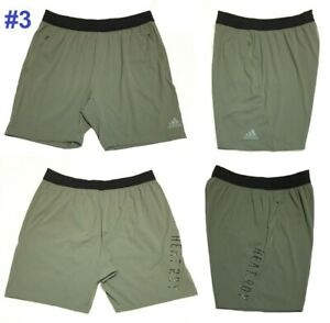 ADIDAS-HEAT-RDY-9-034-MENS-SHORTS-Cooling-Stretch-Active-Training-Running-3XL-NWT