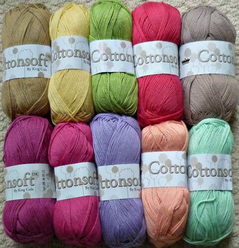 Knitting Pattern Ladies Cap Manche Cardigan /& Top Cottonsoft DK King Cole 5095