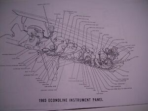 1969 Ford Econoline Wireing Wiring Diagram covers all ...