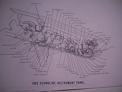 1969 Ford Econoline Wiring Diagram covers all 11x17 oversize 16 pgs | eBay | 1965 Econoline Wiring Diagram |  | eBay