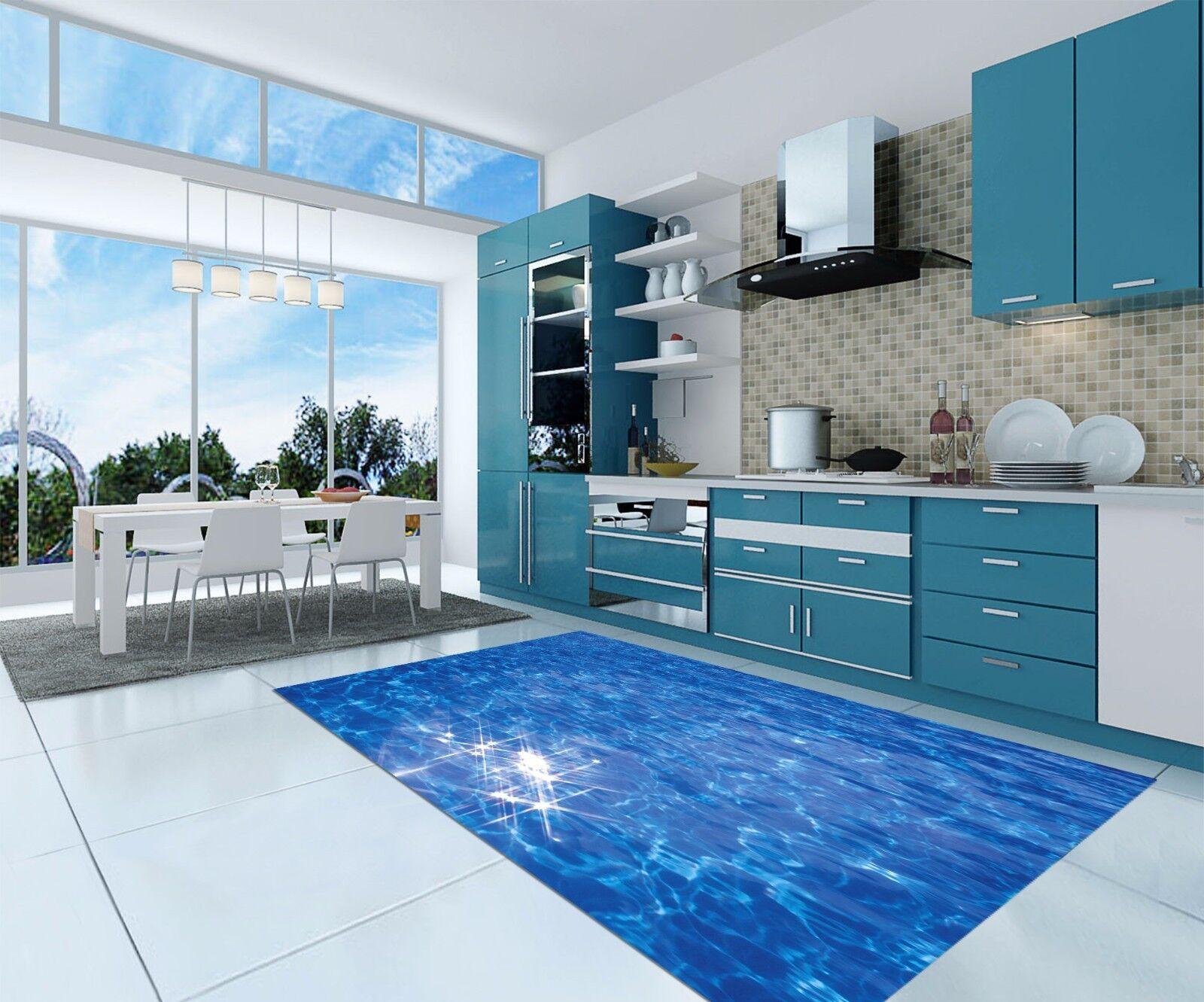3D Flash Water 62 Kitchen Mat Floor Murals Wall Print Wall Deco AJ WALLPAPER AU
