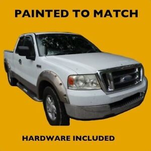 New Ford F150 >> Details About New Ford F 150 2004 2005 2006 Truck Painted Fender Flares To Match Bolt Style