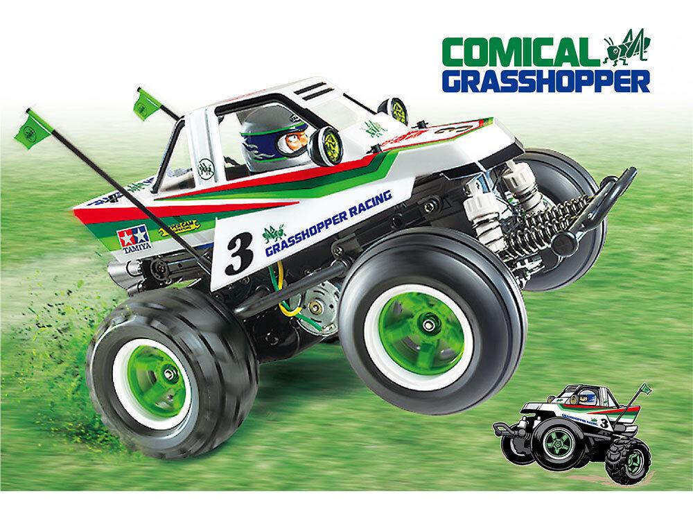 Three Battery Super Deal  Tamiya 58662 Comical Grasshopper WR02CB RC Kit