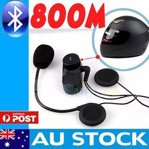 1-x-800M-BT-interphone-Bluetooth-Motorbike-Motorcycle-helmet-intercom-Headset-AU