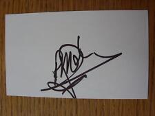 50's-2000's Autographed White Card: Molenaar, Robert - Leeds United