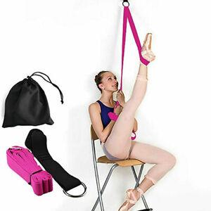 Leg-Stretcher-Gymnastics-Ballet-Flexibility-Stretch-Straps-Band-Install-on-Door