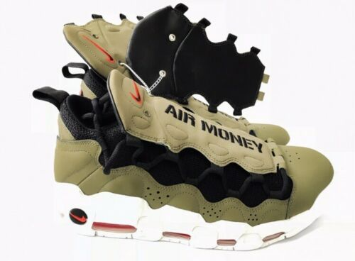 Sz 11 habanero Men's Oliveblack Red Money Novità Aj2998 200 5 Nike Air More EYD29IWH
