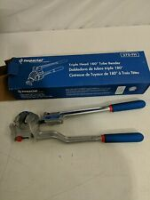 New Listingpreowned Imperial Triple Head 180 Tube Bender W Calibrated Markings Made In Usa
