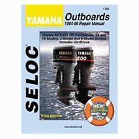 Seloc Service Manual, Yamaha Outboards 1984-1996 1701 on sale